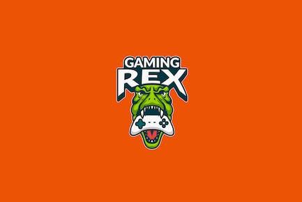 T-Rex Gaming E-Sport Illustration Logo