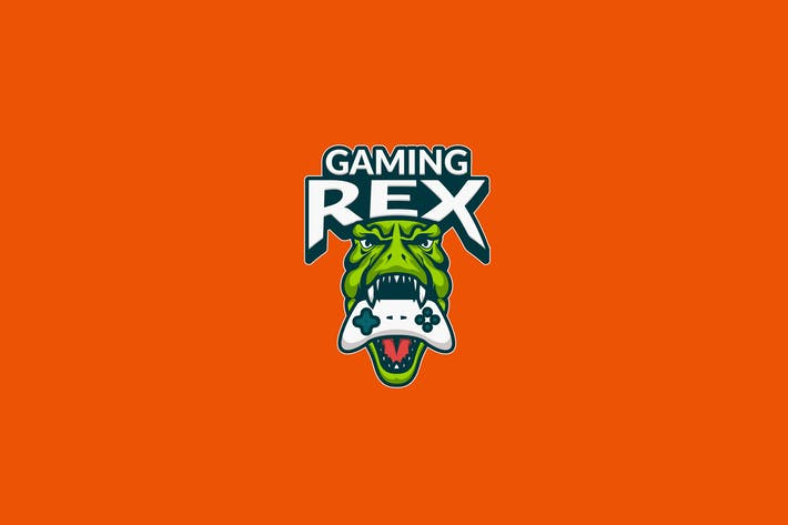 Thumbnail for T-Rex Gaming E-Sport Illustration Logo