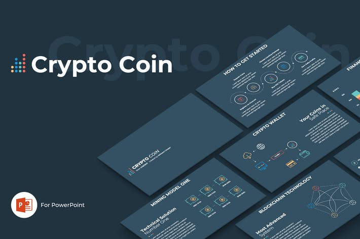 Thumbnail for Crypto Coin PowerPoint Template