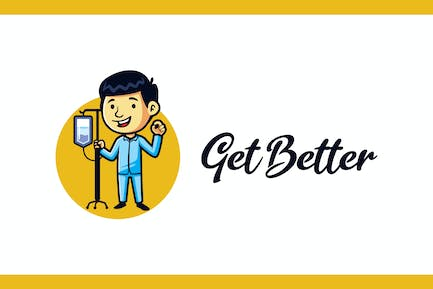 Getting Better - Medical and Healthcare Logo