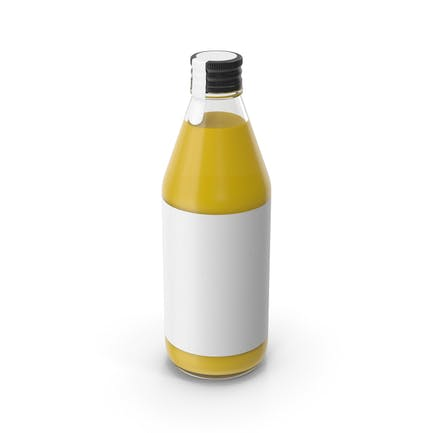 Juice Bottle Yellow