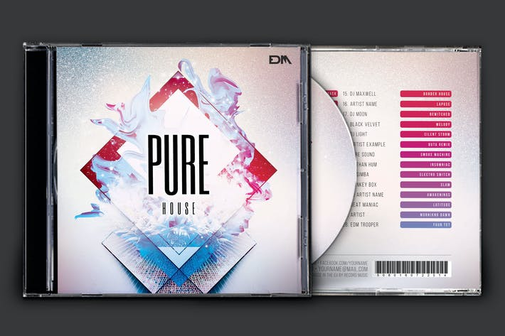 Thumbnail for Pure House CD Cover Artwork