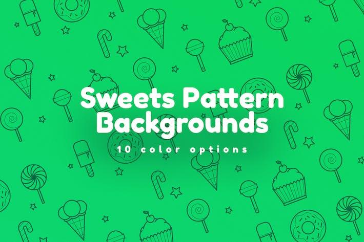 Thumbnail for Fondos de patrón de dulces