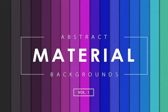 Thumbnail for Material Design Backgrounds Vol. 1