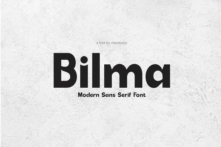 BILMA - Sans Serif