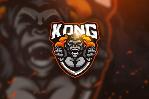 Kong Scream - Mascot & Esport Logo