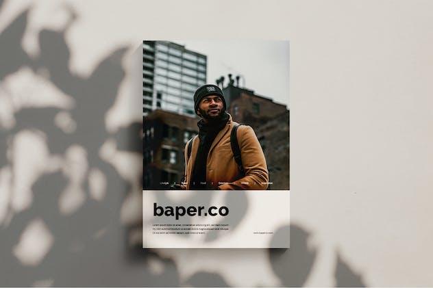 Baper - Magazine Template