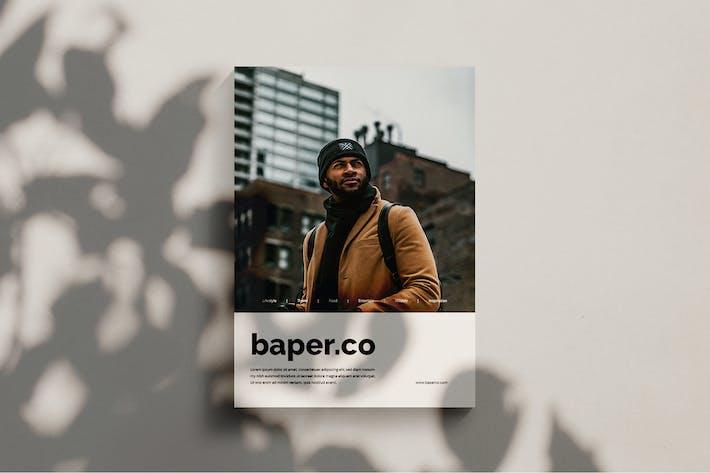 Thumbnail for Baper - Magazine Template