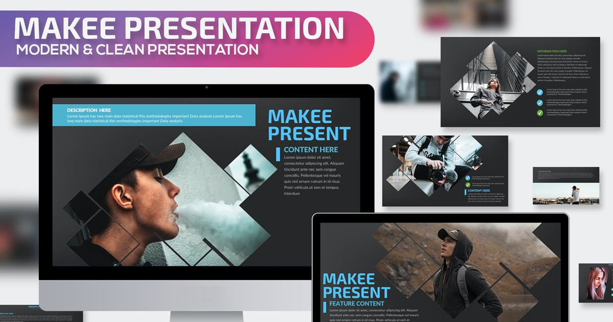 Download Makee Powerpoint Presentation Template by mamanamsai
