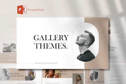 Gallery Themes PowerPoint Templates
