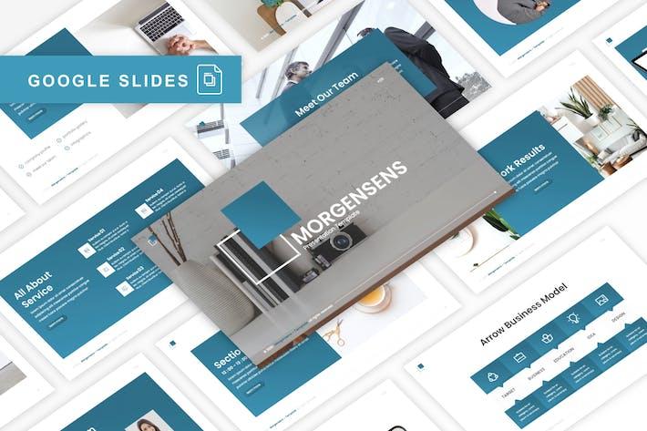Thumbnail for Morgensens - Multipurpose Google Slides Template