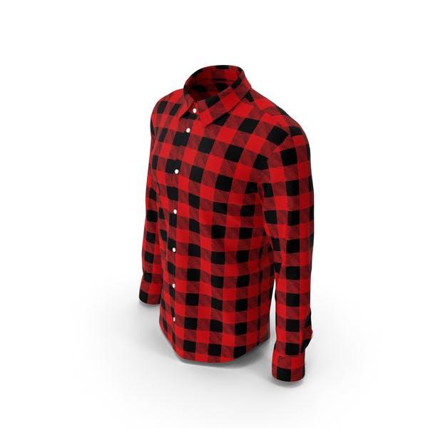 Man Plaid Shirt