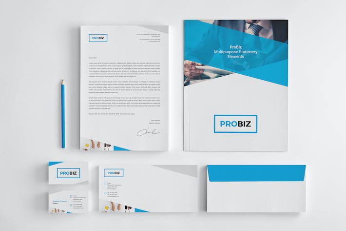 Thumbnail for ProBiz – Stationery Elements
