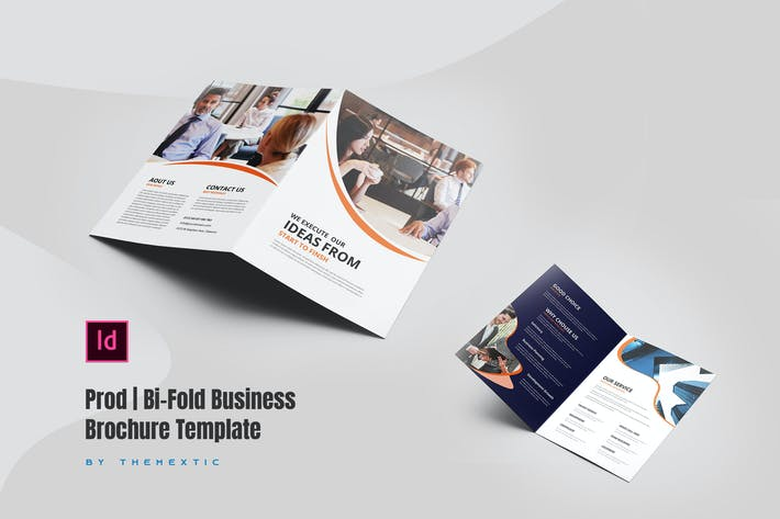 Thumbnail for Prod | Bi-Fold Business Brochure Template