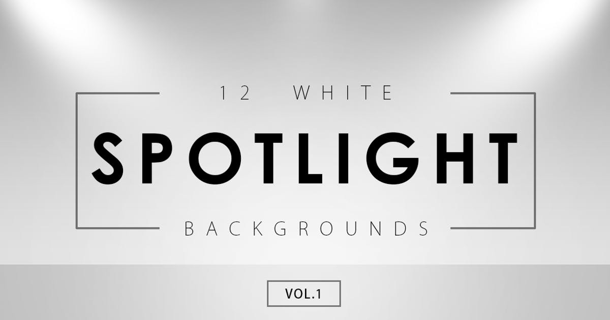 Download 12 White Spotlight Backgrounds 1 by M-e-f