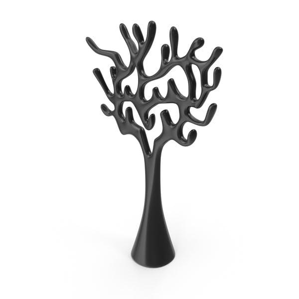 Tree Sculpture Black