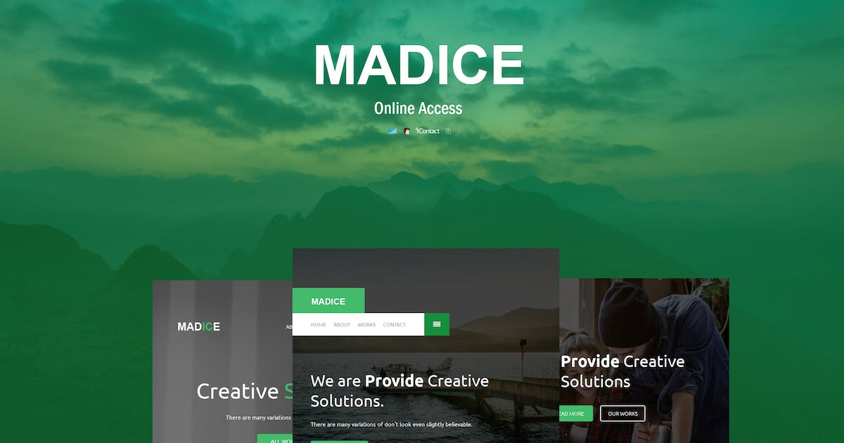 Madice - Responsive E-mail Template by williamdavidoff