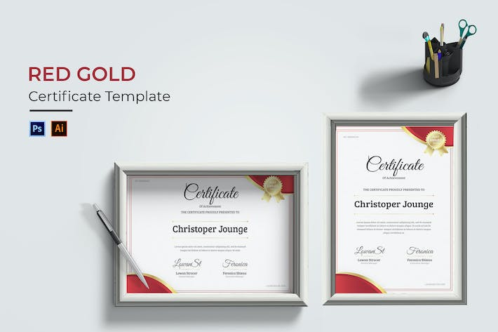 Red Gold Certificate