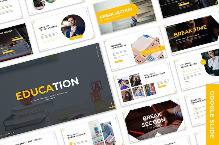 Cover Image For Education - Business Google Slide Template