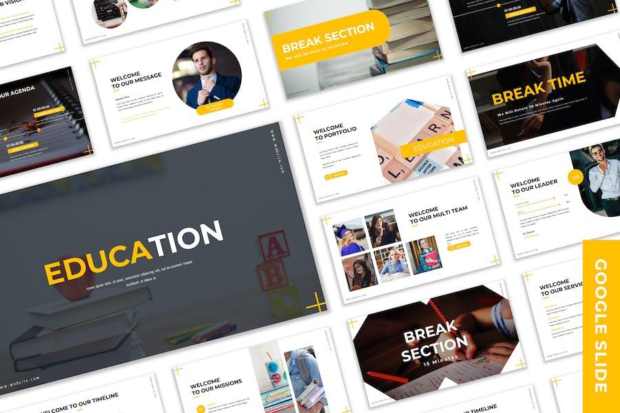Education - Business Google Slide Template