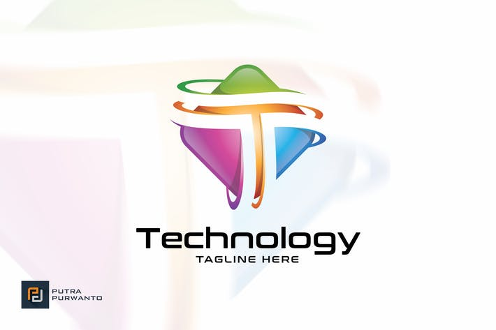 Thumbnail for Technology / Letter T - Logo Template