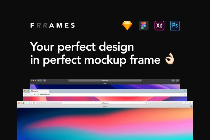 Thumbnail for Frrames Mockups