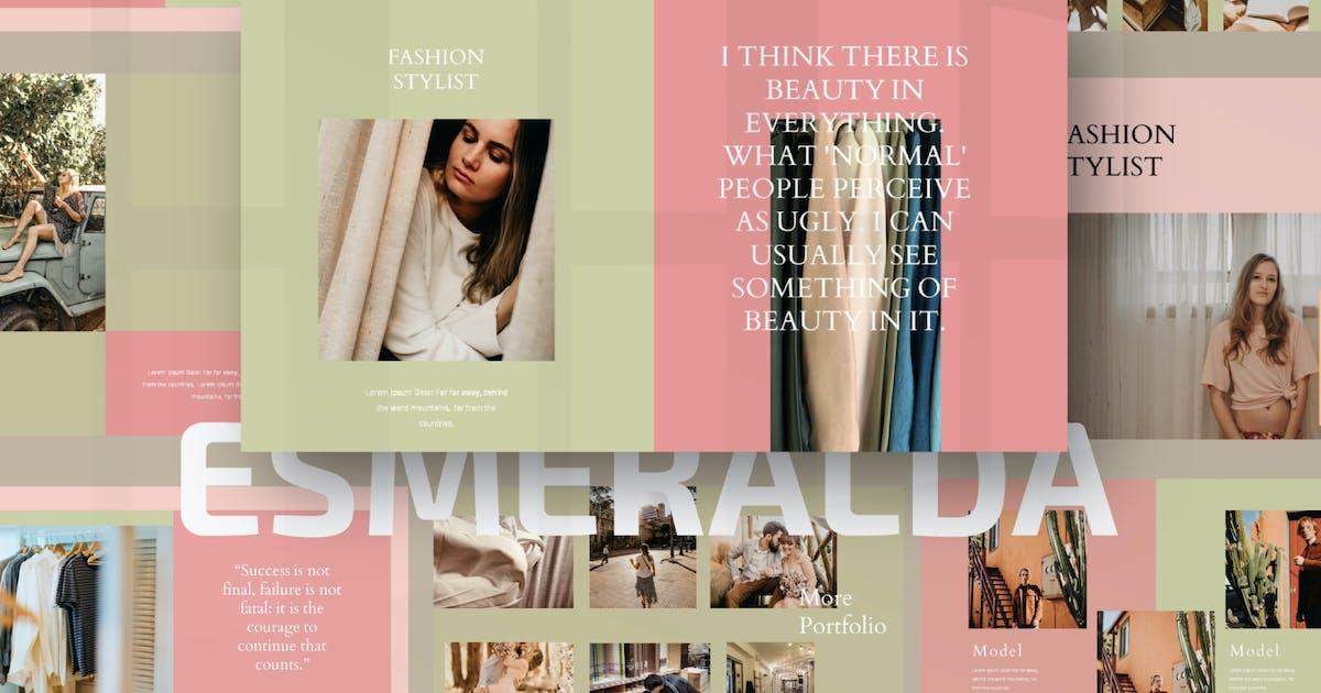 Download Esmeralda Bundle Presentation Template by axelartstudio