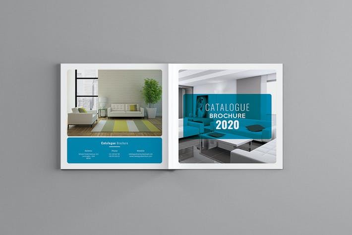 Thumbnail for Famella - Square Catalogue Brochure Template