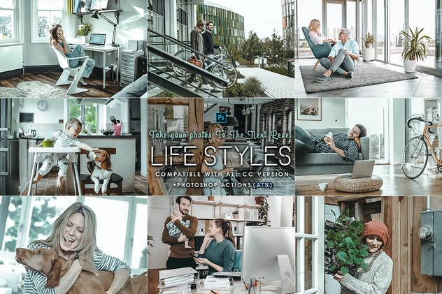 Life Styles Photoshop Actions