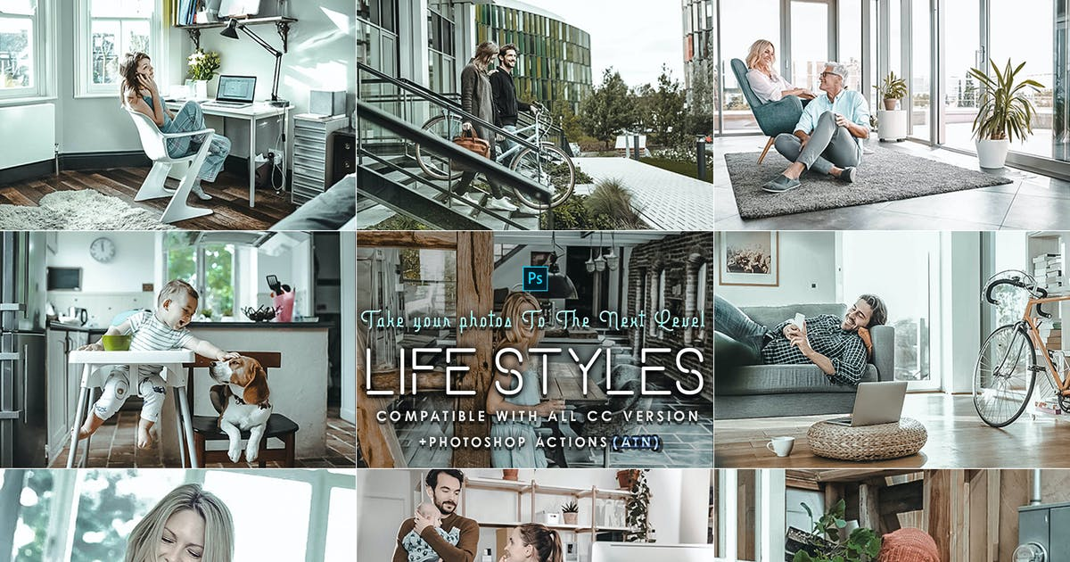 Download Life Styles Photoshop Actions by 2lagus