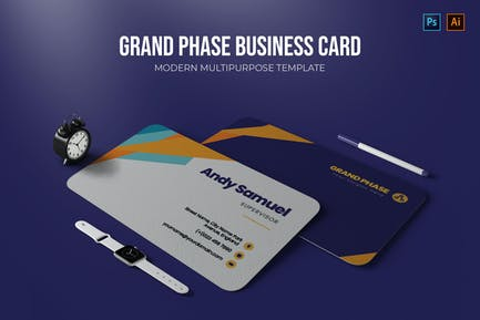 Grand Phase - Carte de visite