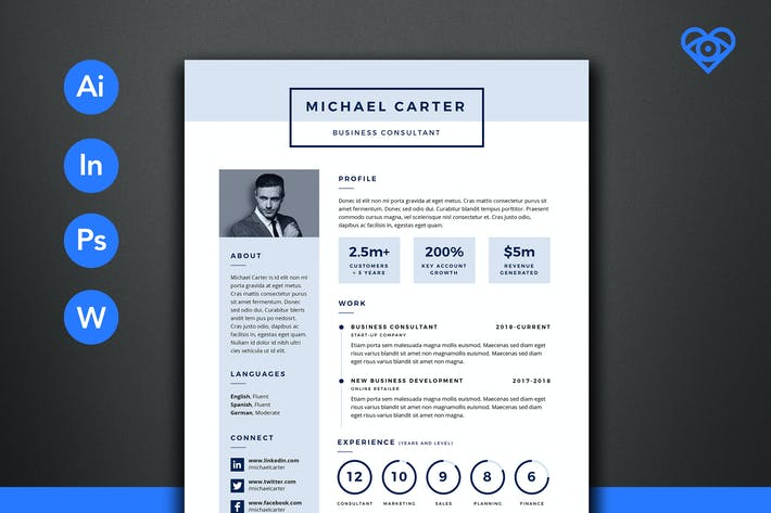 Cover Image For PRO Resume 1