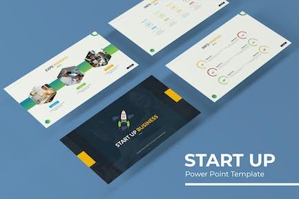 Start Up - Powerpoint Template