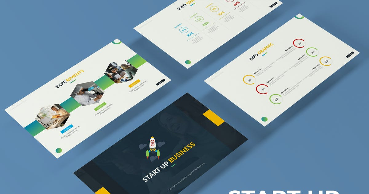 Start Up - Powerpoint Template by IanMikraz