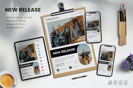 New Release  - Flyer Set