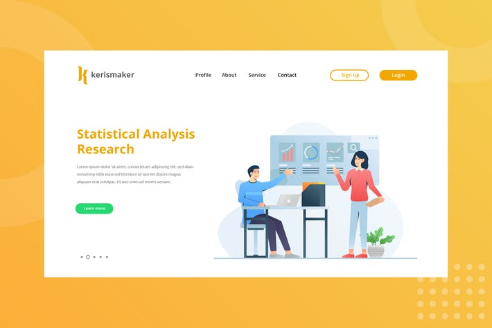 Thumbnail for Statistical Analysis Research Landing Page