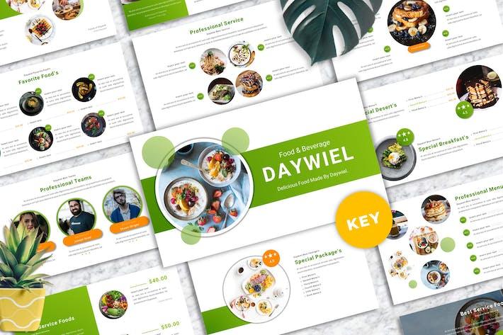 Daywiel - Food & Beverage Keynote Templates