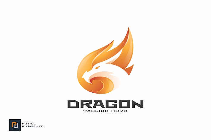 Thumbnail for Dragon Fire - Logo Template