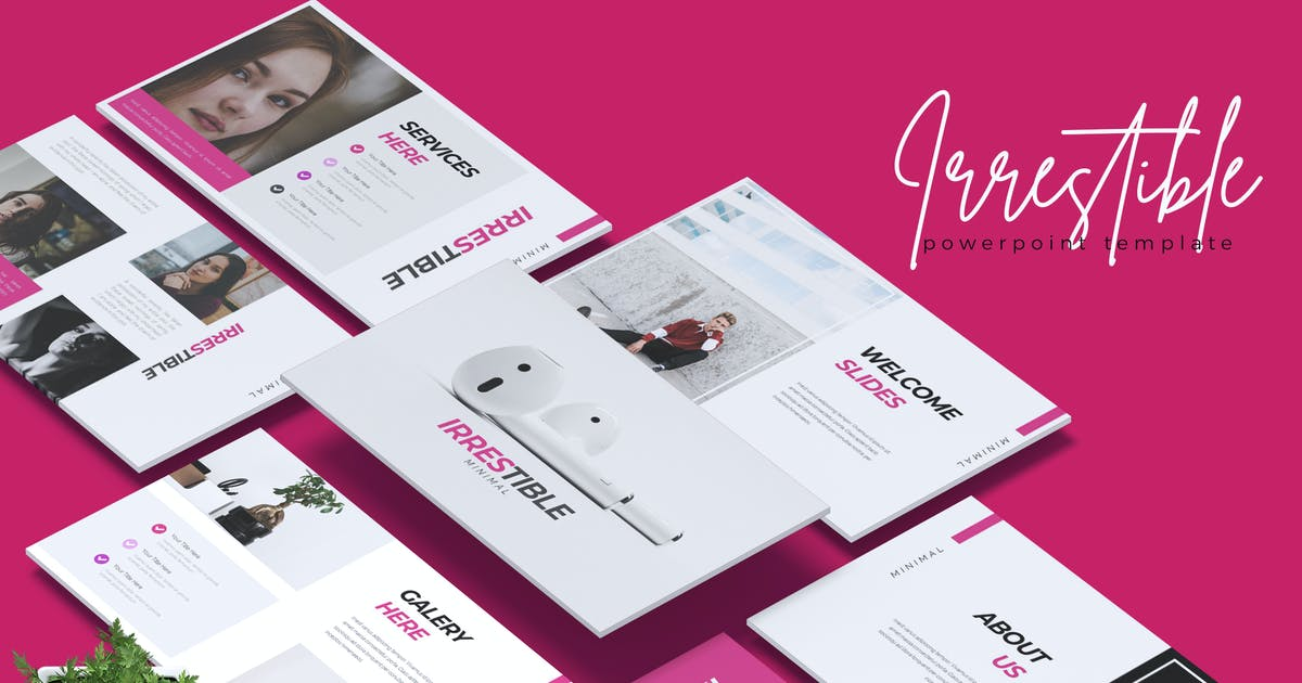 Download IRRESTIBLE - Creative Powerpoint Template by RahardiCreative