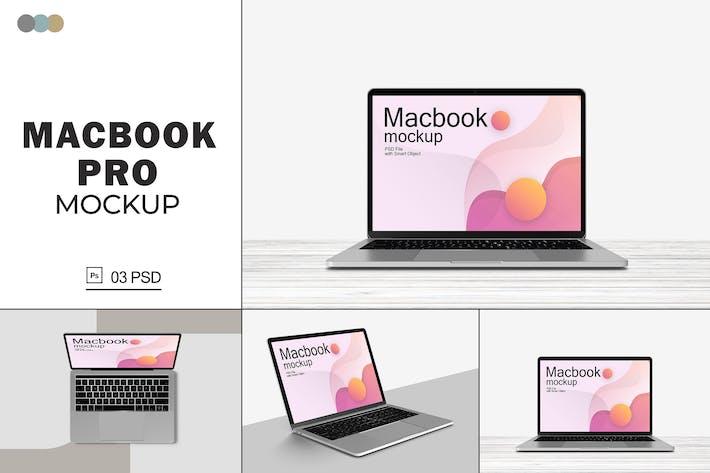 Thumbnail for Macbook Pro Mockups V.6