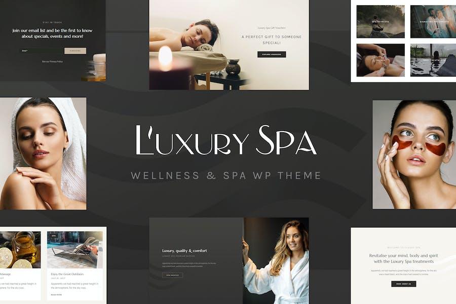 Luxury Spa - Beauty Spa & Wellness Resort Theme