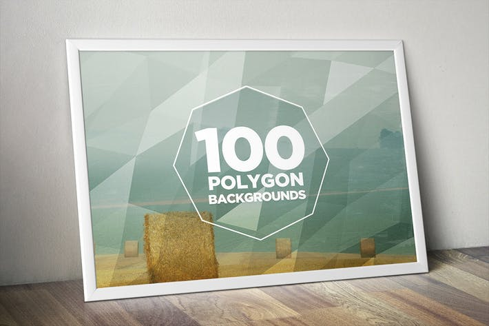 Thumbnail for 100 Geometric Polygon Backgrounds