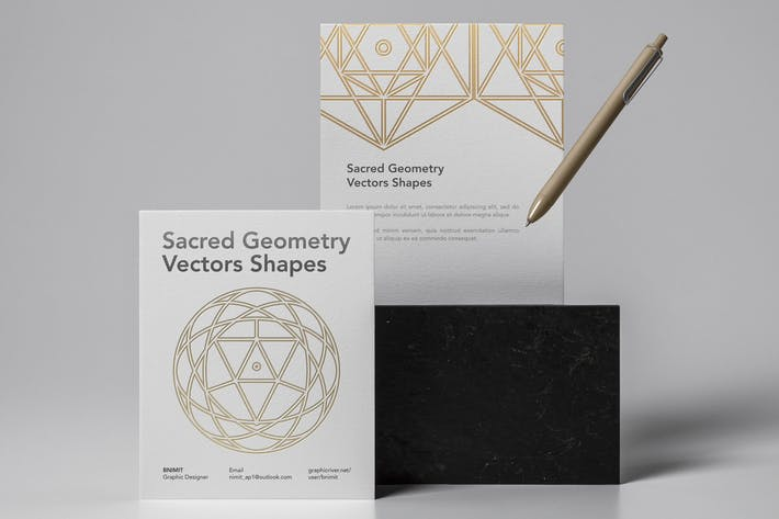 Thumbnail for Sacred Geometry Vectors Shapes