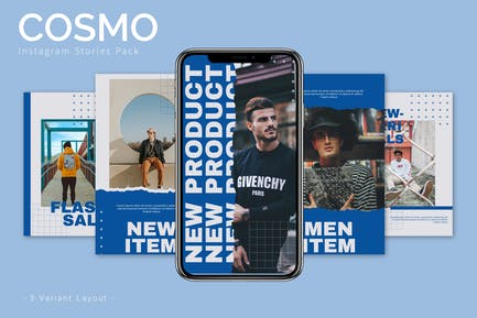 Cosmo - Instagram Story Pack