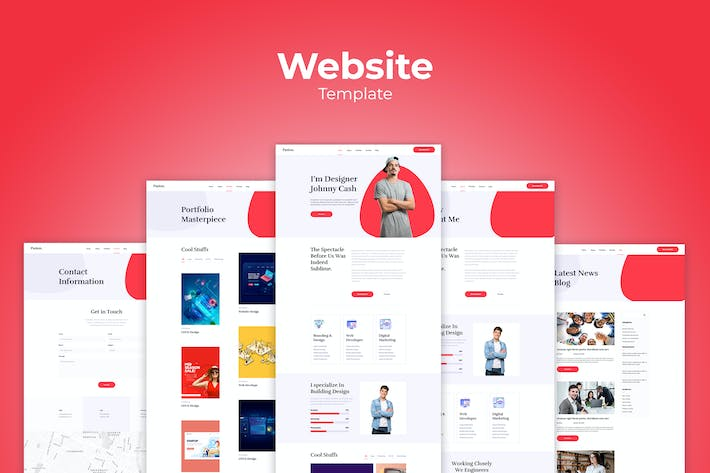 Thumbnail for Personal Website Templates