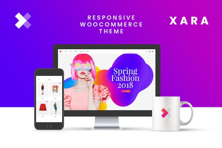 Xara - Responsive WooCommerce Shop Theme