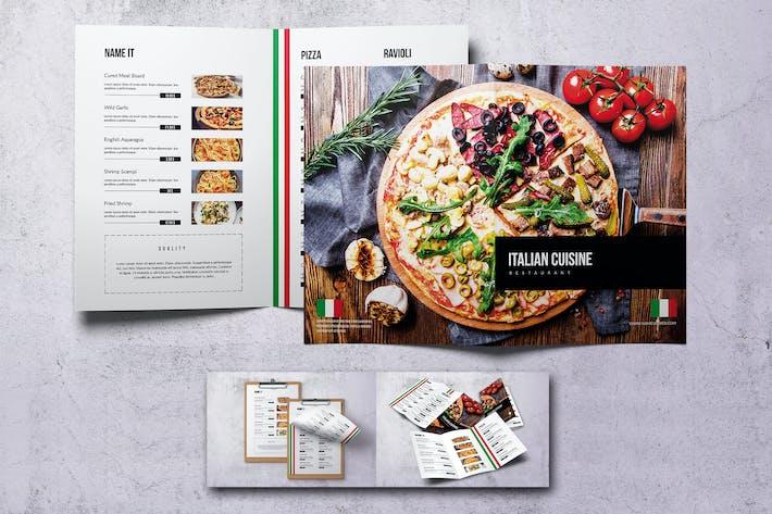 Thumbnail for Italian Cuisine Food Menu Bundle