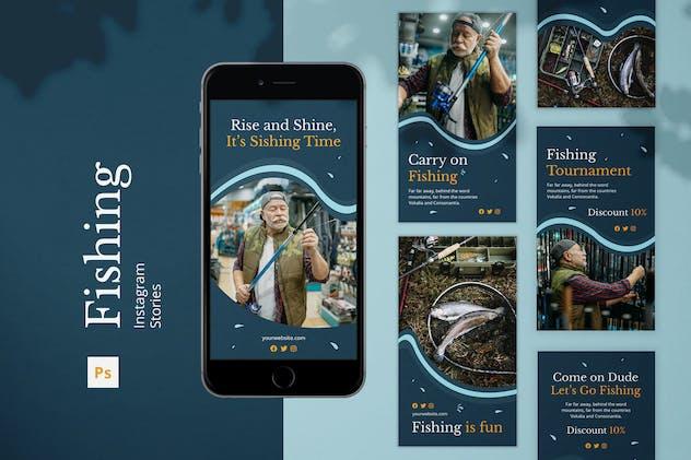Fishing Instagram Stories