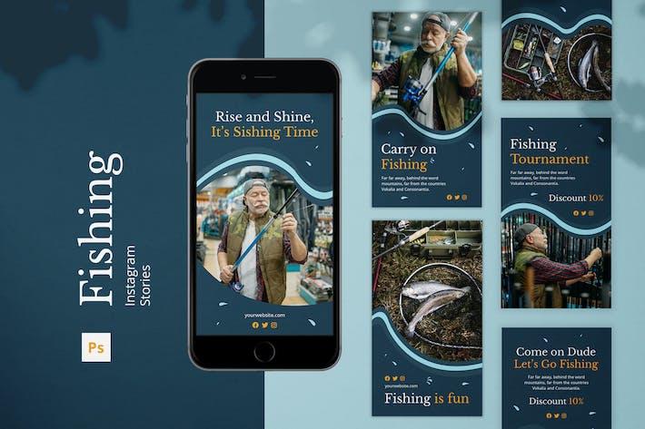 Thumbnail for Fishing Instagram Stories