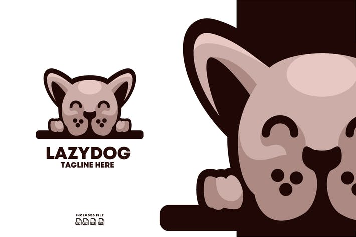 Thumbnail for LazyDog Logo Design